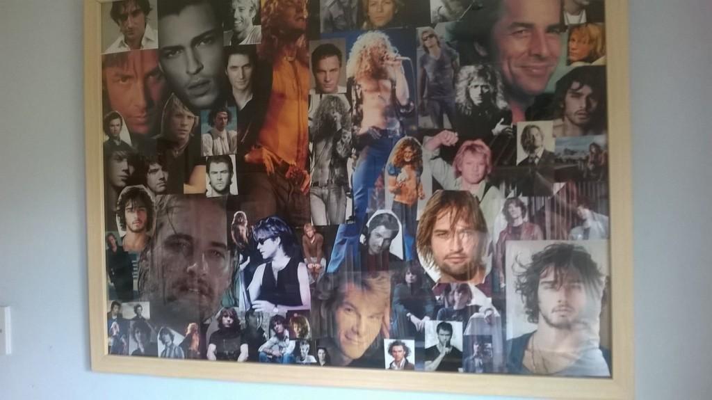 Hot man collage